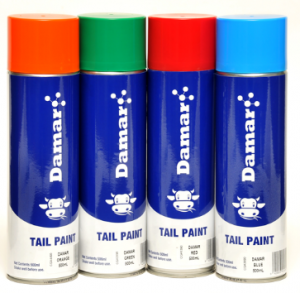 Damar Tail Paint 4 cans